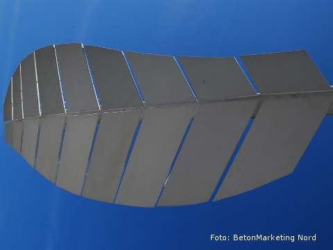betoShell GRC: awning