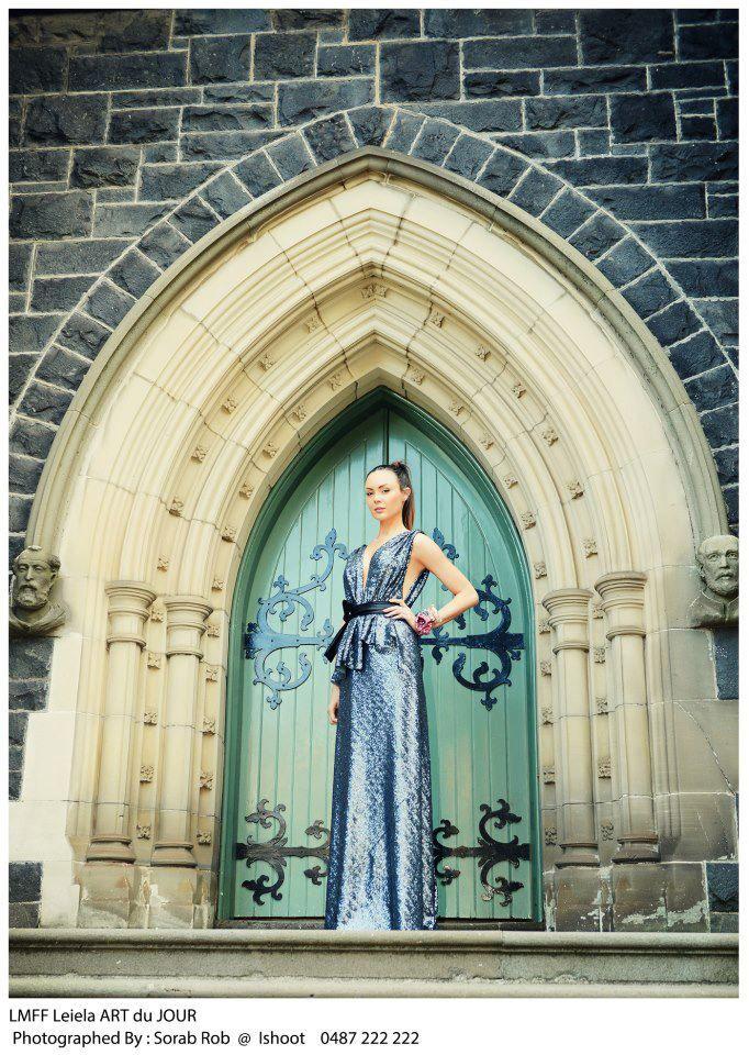 Leiela Tahiti Gown Photographer: Sorab Rob  LMFF ART du JOUR by Leiela