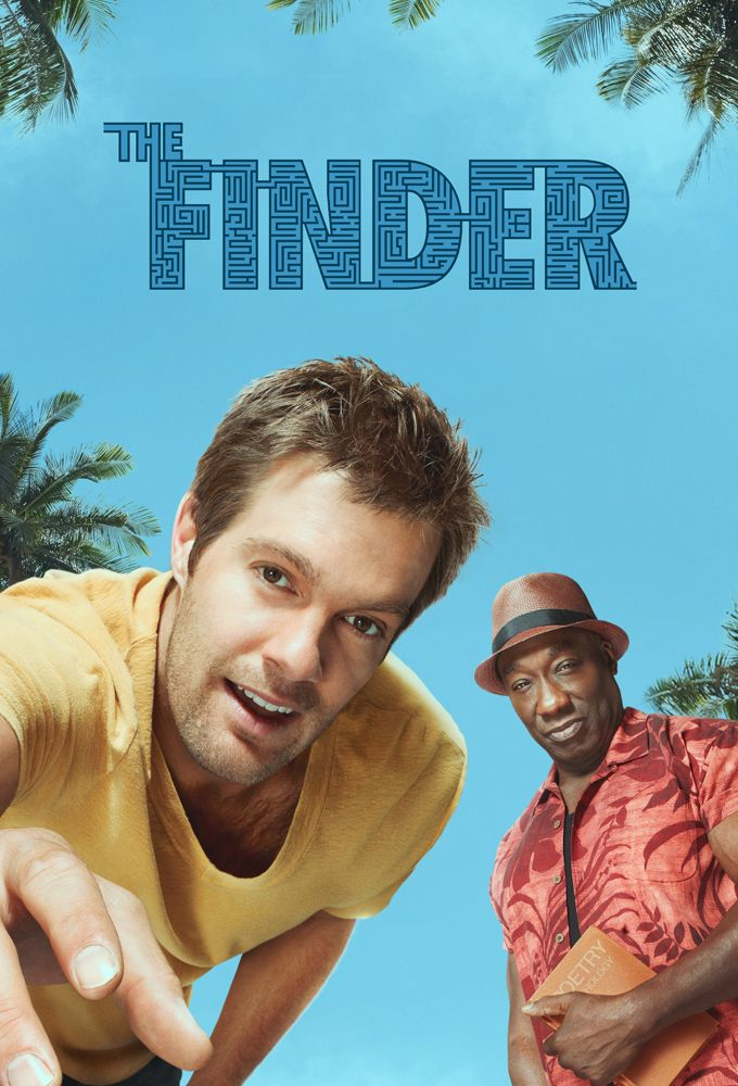 The Finder, 2012 // It got canceled, aw man. I LOVED this show.