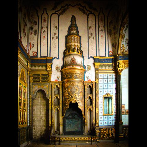 The Fireplaces of Topkapi Palace, Istanbul, Turkey