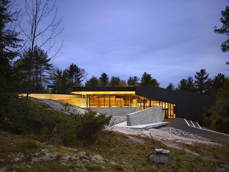French River Visitor Centre / Baird Sampson Neuert Architects