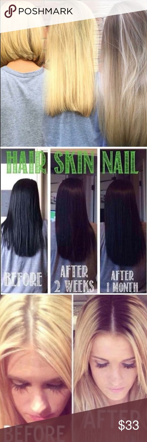 """Itworks hair models needed It works hair models needed! 90 day challenge to grow your hair and nails for fall at my price! comment/text 678.920.0568 """"long hair"""" for details. I have a few spots left!  **DONT BUY THIS LISTING** Other"""