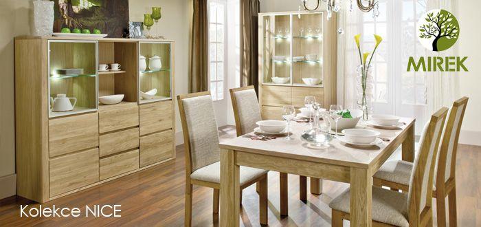 Nábytek z rady dubovýho nábytku Nice