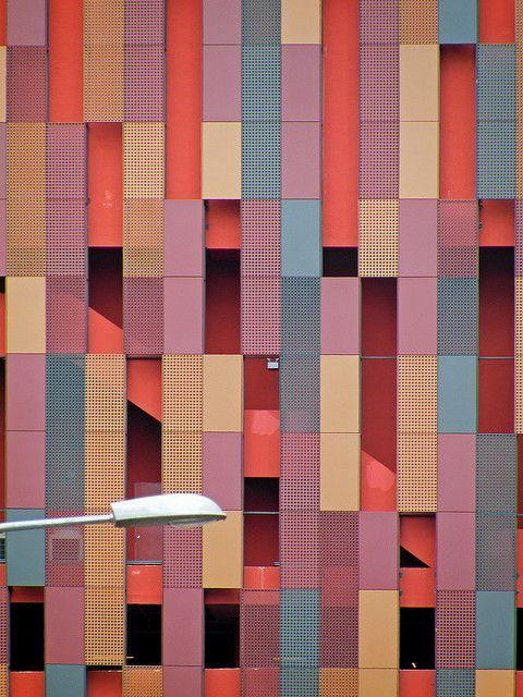Illume Façade Singapore entertainment and retail development by WOHA Architecture
