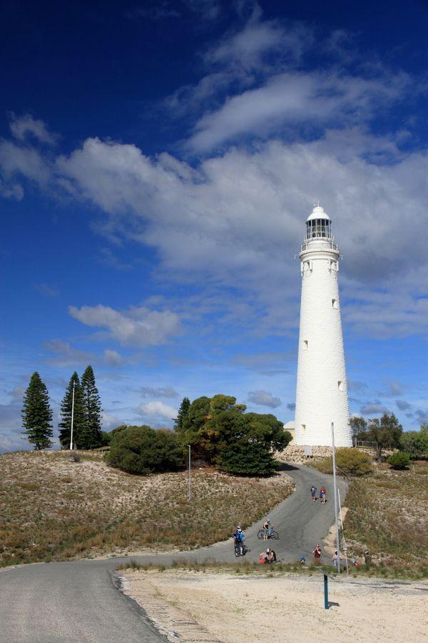 "Wadjemup Lighthouse was Western Australia's first stone lighthouse Rottnest Island Australia -32.007222, 115.504167 ""Rottnest Lighthouse"" by Robert Home, via 500px."
