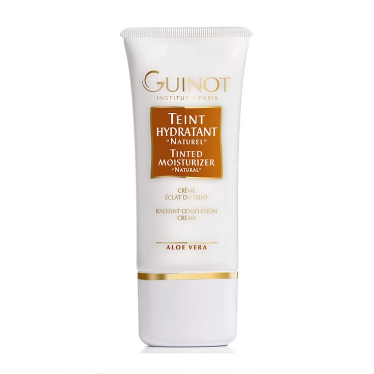 Ditch the foundation and go for a lighter, brighter tinted moisturizer http://www.feelunique.com/p/Guinot-Teint-Hydratant-Naturel-Tinted-Moisturiser-Natural-30ml