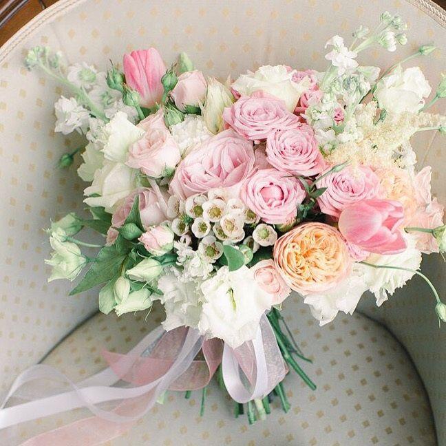 #букет #невесты #розовый