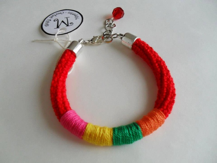 Urban Bracelet by MaparimCrochet on Etsy, €6.00