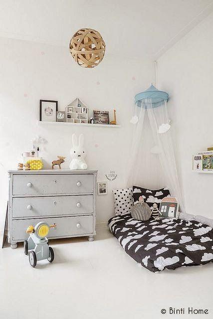 Decoração de quarto infantil ( inspiração de blogs gringos) - Jeito de Casa