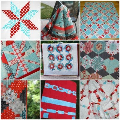 I want an aqua and red quilt for shoots. If only I could sew...