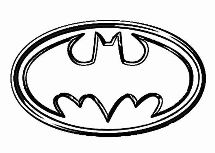logo batman coloring pages images free coloring pages for kids - Pages For Kids