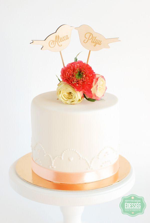Pöttyös Bögre Édesség - Esküvői torták