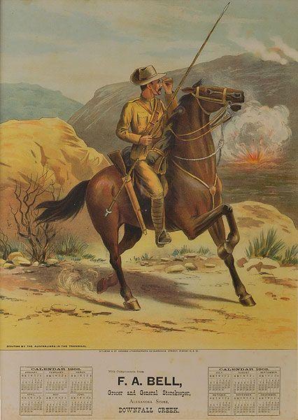Boer War Lancer from an Australian Colony.