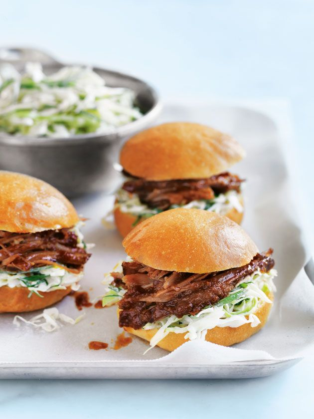 pineapple and chipotle pulled pork sliders
