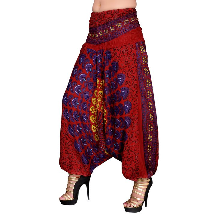 Drop Crotch #pants , Casual Joggers, Harem Pant, Bohemian Unisex, #Yoga #Meditation Pants, Hippie Pants