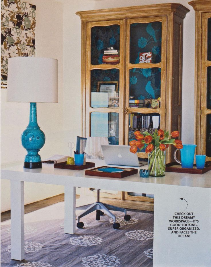 turquoise office decor. turquoise office accents decor