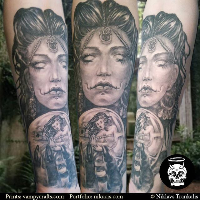 Fortune Teller Healed I Have Recently Relocated To Riga Latvia And Am Taking Bookings For April E Mail Info Nikucis Com Fac Skin Art New Tattoos Body Art