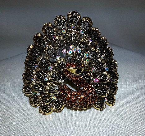 Peacock Adjustable Bracelet