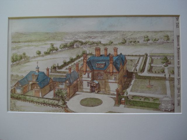 Black Knoll, Brockenhurst, Hants , Hampshire, England, UK, 1890, Reginald T. Blomfield