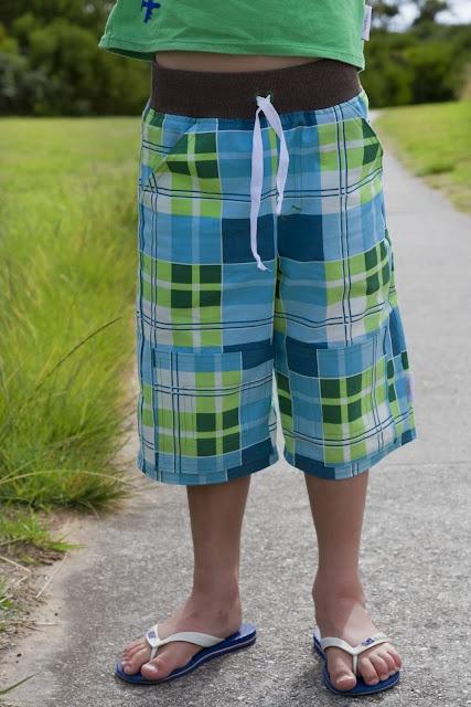 Long Board shorts // make it perfect pattern