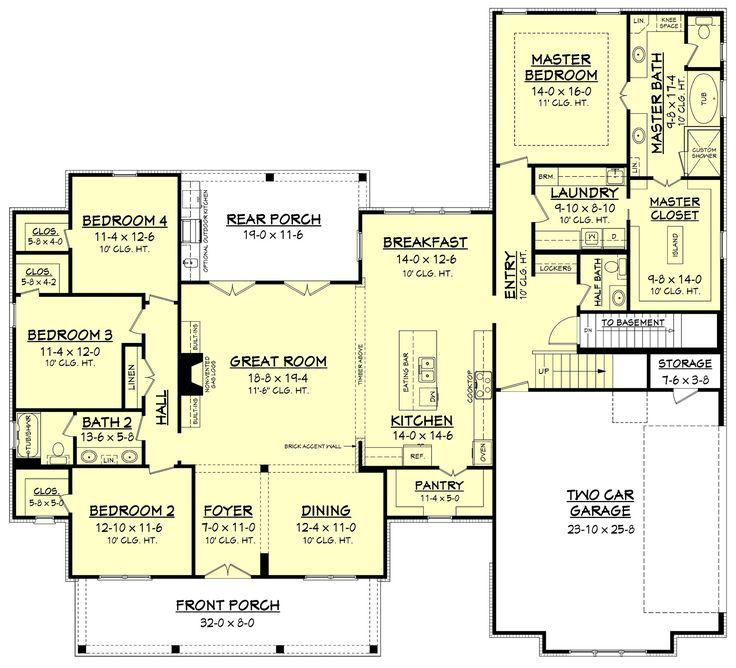 best 20+ rambler house plans ideas on pinterest | rambler house
