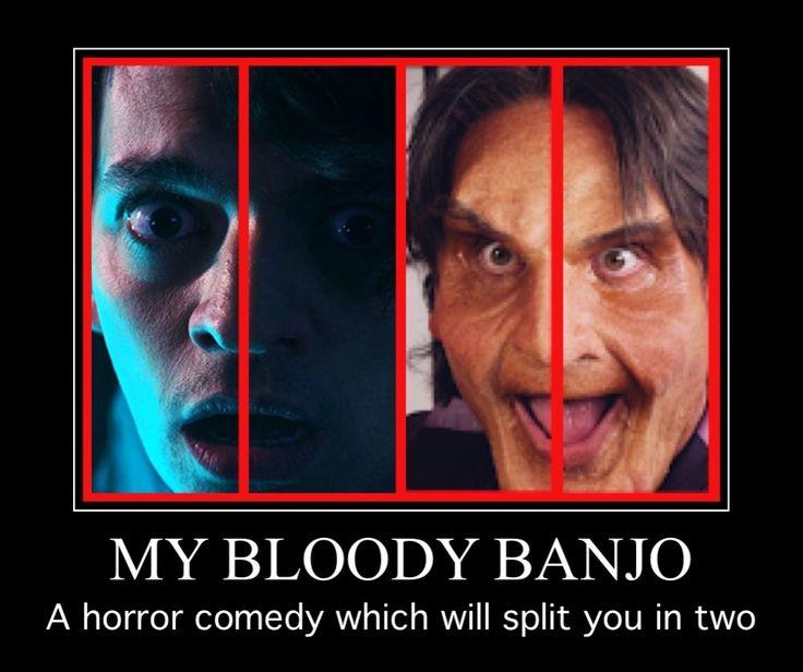 #FF  Follow #MyBloodyBanjo on  #Twitter @banjomovie   #Facebook @mybloodybanjo   #SupportIndieFilm 💀#LiamRegan