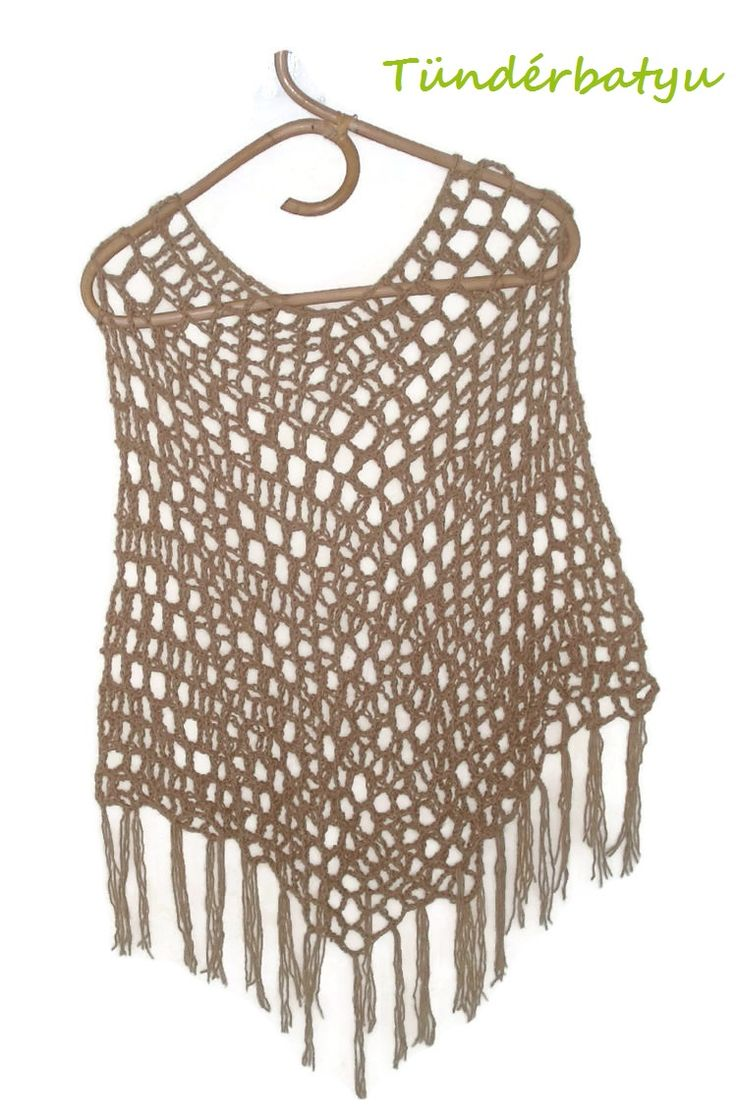 #reticulated #bohem #summer #crocheted #poncho www.facebook.com/tunderbatyu