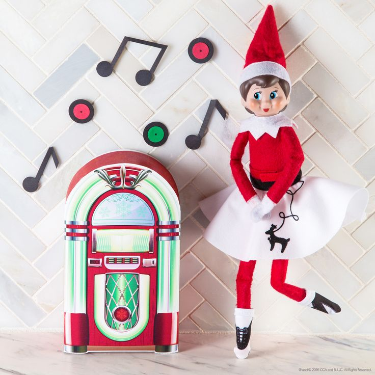 Free printable so your elf can rock