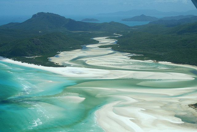 Whitsunday Island, Queensland Australia. I LOVE the turquoise water on the white sand.: Favorite Places, Australia Travel, Beautiful Places, Magic Places, Queensland Whitehaven, Queensland Australia, Whitsunday Islands, Australia Queensland, Whitehaven Beaches
