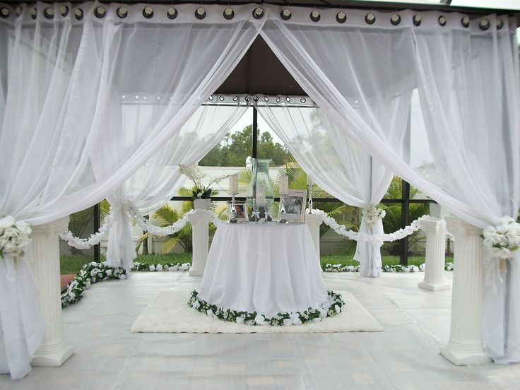 Indoor Or Outdoor Wedding Ceremony Some Facts To Help You: 17 Best Images About Draping Ideas On Pinterest