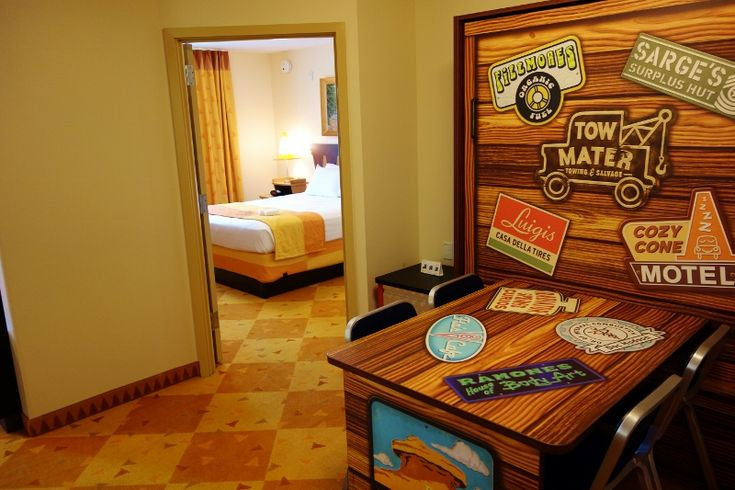 Entry Cars Family Suite at Disney's Art of Animation Resort from yourfirstvisit.net