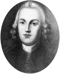 George Ross (1730-1779) was a signer of the Declaration of Independence as a representative from Pennsylvania.  Initially a Tory, he served as Crown Prosecutor for twelve years and was elected to the provincial legislature in 1768.  There, his sympathies began to change and he became a strong supporter of the colonial assemblies in their disputes with Parliament.  He was elected to the Continental Congress and was a colonel in the Pennsylvania militia.
