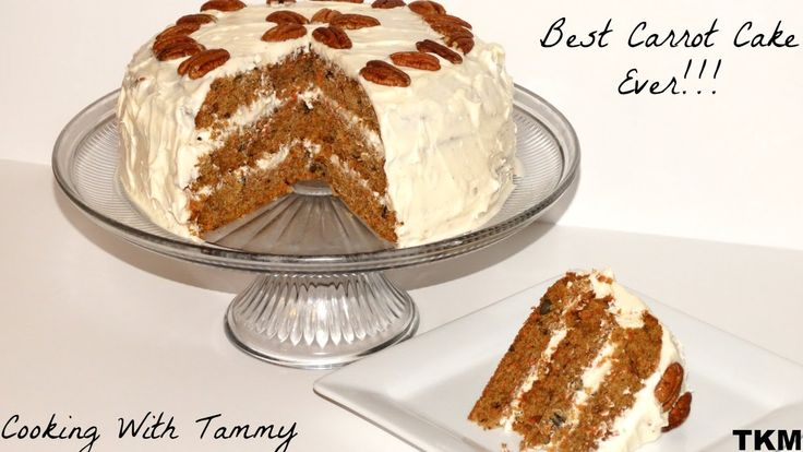 Cake Recipes In Written: Most Delicious, Moist, Decadent, Carrot Cake Recipe Ever