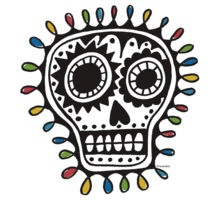 Sugar Skull sharpie shirt