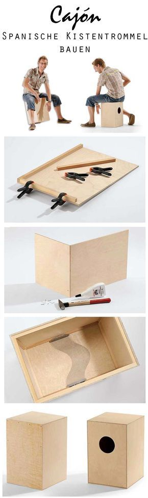 Cajón ist Spanisch und heißt Schublade oder Kiste – und auf dieser kann man ausgezeichnet trommeln. Wir zeigen, wie du Schritt für Schritt die spanische Kistentrommel selbst bauen kannst.
