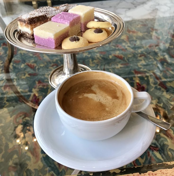 Afternoon coffee at The Table Bay Hotel, Cape Town.