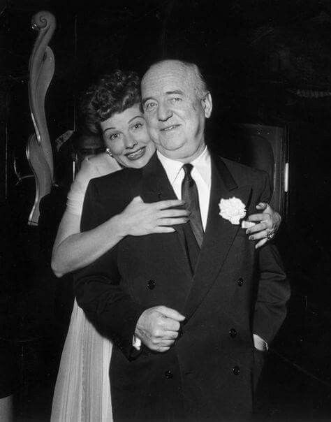 William Frawley 2/26/1887 to 3/3/1966   with Lucille Ball