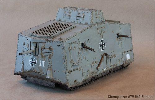 Tauro A7V 1/35th