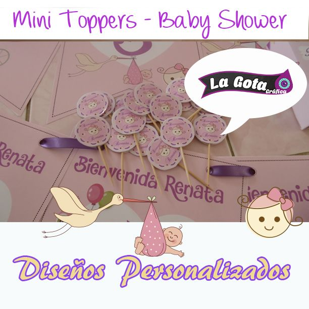 Mini Topper Baby Shower