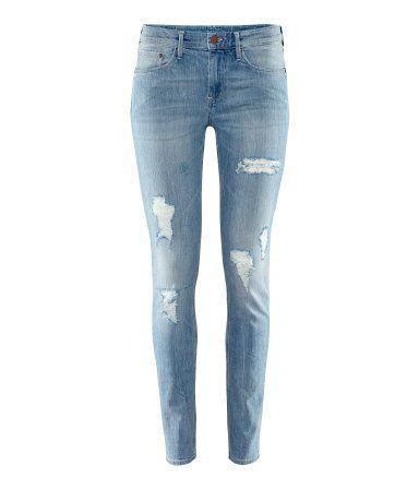 #jeans #strappati #moda