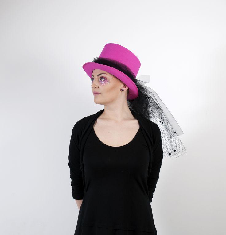 """Top Hat by student Sara """"Pirat"""" Wahlmark. Tillskärarakademin i Göteborg"""