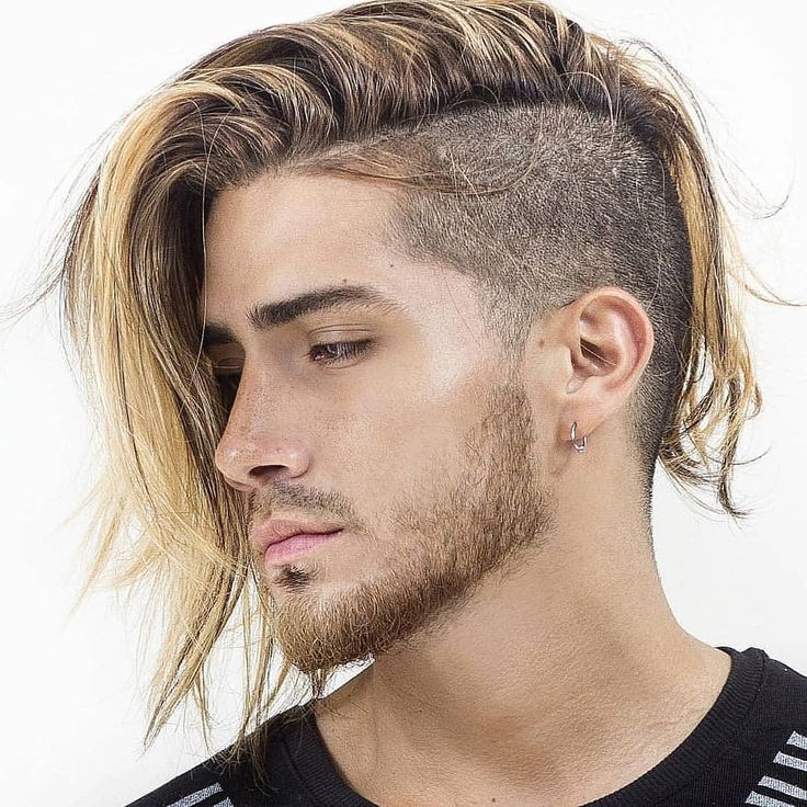 Things that make you love and hate long hair shaved sides men