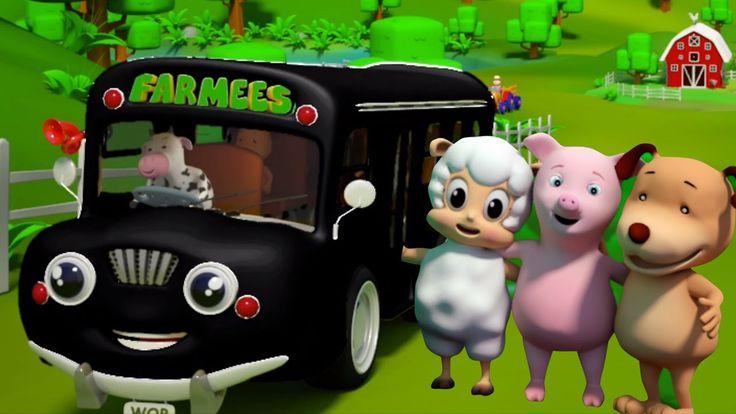 Rodas no ônibus | Rimas para bebês | musica infantil | Wheels On The Bus...Hey guys! As rodas do ônibus é uma rima super divertido que sabemos tudo que as crianças pequenas vão desfrutar. farmees hoje ter feito uma compilação de vídeo super divertido de rimas. Então assista a este vídeo super divertido e divirta-se!  #FarmeesPortugues #rodasnoônibus #Crianças #bebês #Préescolares #educacional #jardimdeinfancia #parentalidade #kidsvideos #criançasrimas #cançãoinfantil #rhymesforkids…