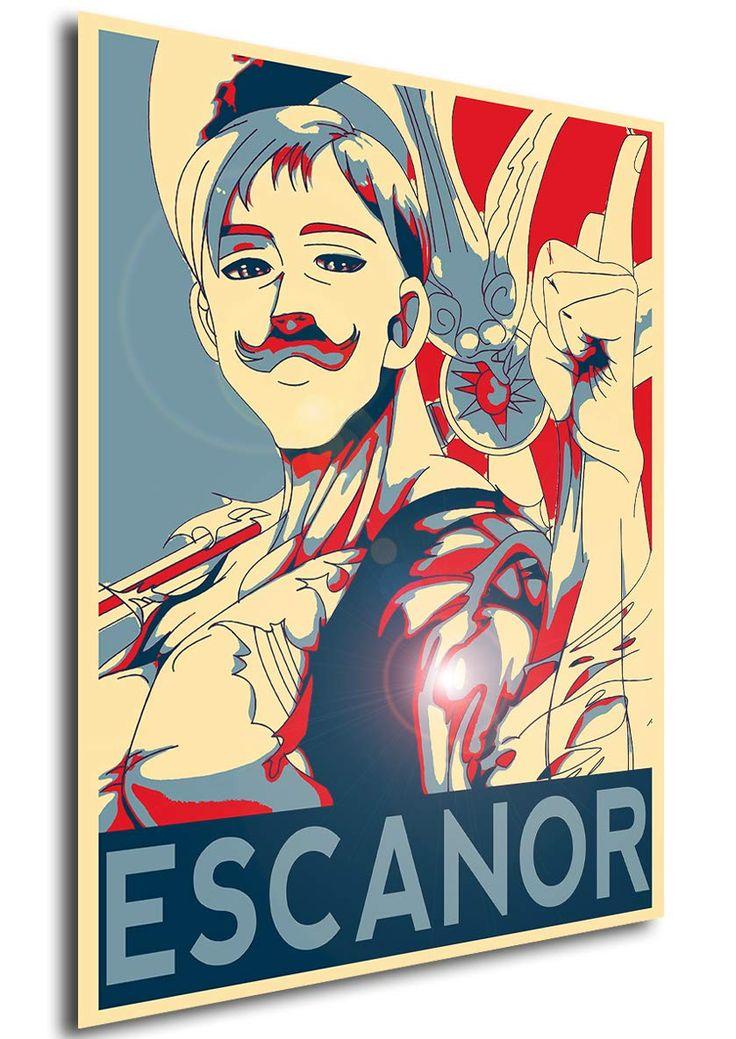 Instabuy poster seven deadly sins propaganda escanor