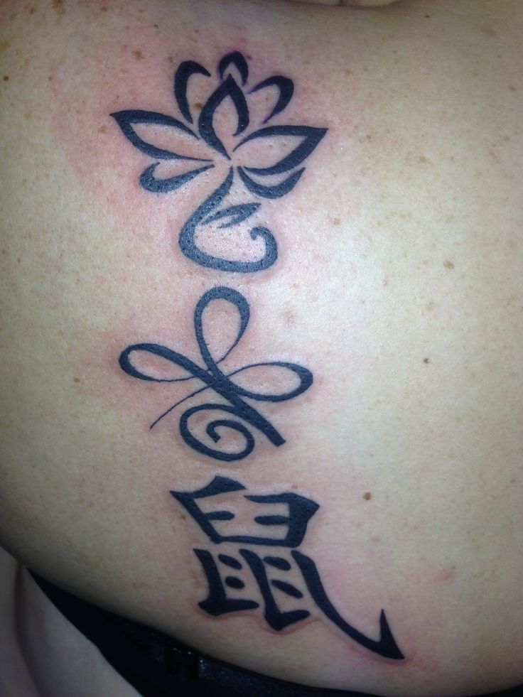 Mine. Lotus new beginning out of dark circumstances. Kibu
