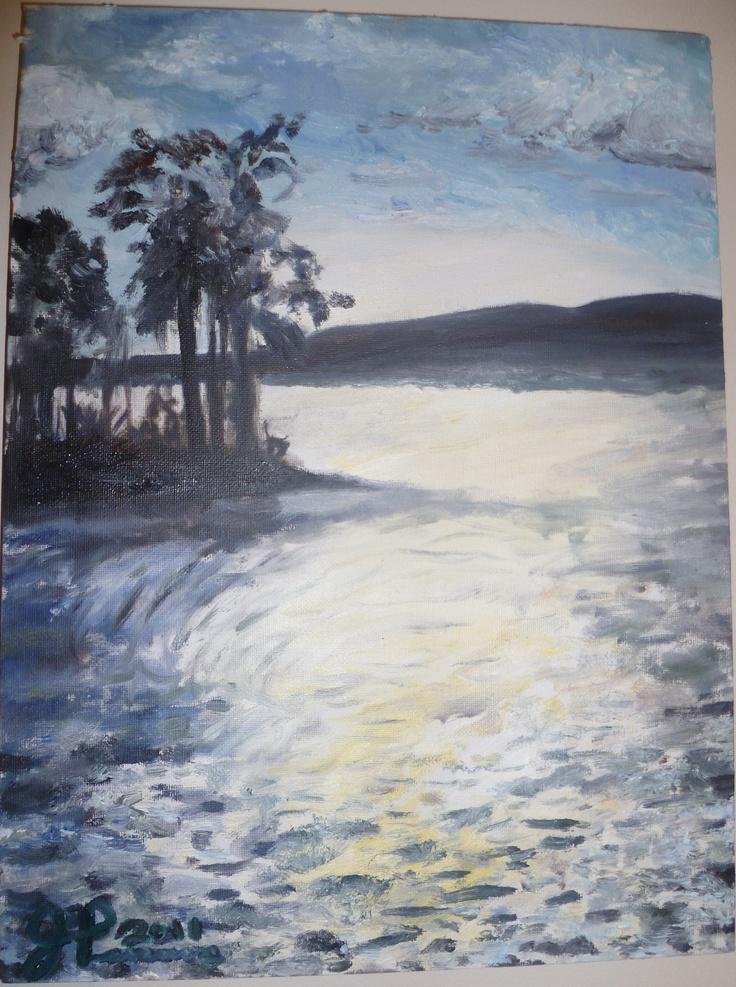 Oil Paint   Creative Creature by Joy Parsons