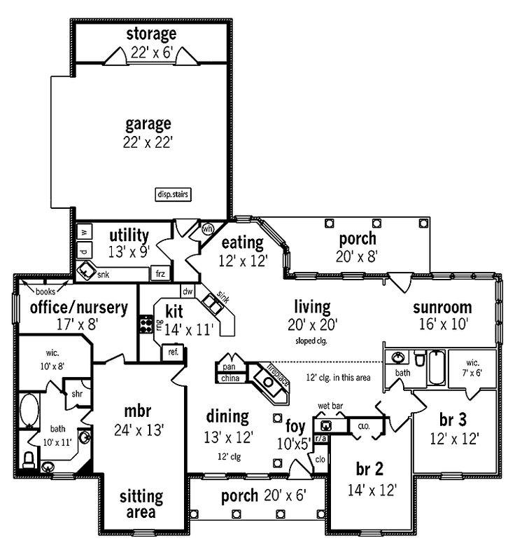 Master Bedroom Floor Plan With Nursery Bedroom Floor