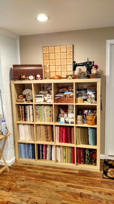 I Love Storing My Fabric On Magazine Boards! It Takes Up So Much Less Space