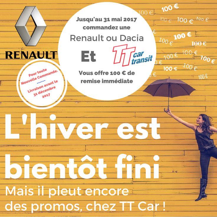 100€ OFFERTS TT Car Transit - Renault ! #ttcar #ttcartransit #promo #Renault #Dacia #expat #expatlife #eurodrive http://bit.ly/2mx1fKD