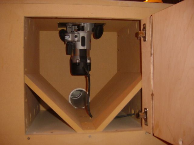 router table dust collection plans - Google Search